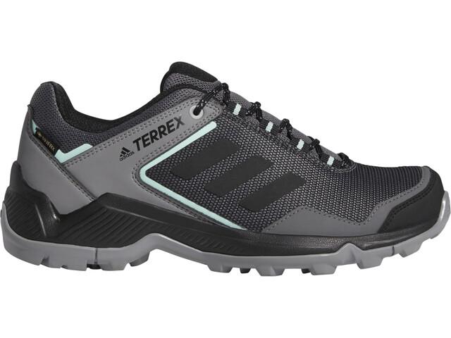 adidas TERREX Eastrail Gore-Tex Chaussures de randonnée Imperméable Femme, grey four/core black/clear mint